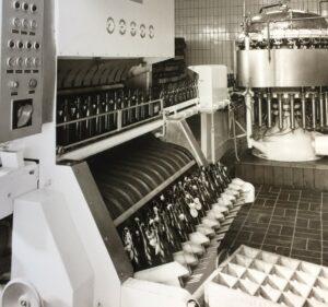 Abfüllanlage, 1970er Jahre